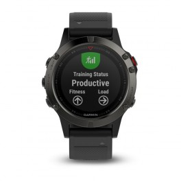 Garmin fenix5 Gray Optic , Black band
